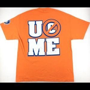 "2008 WWE John Cena ""U Can't C Me"" 2-Sided T-Shirt"